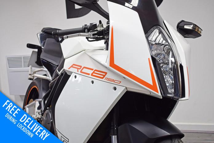Used KTM RC8 1190 for sale northampton bike sanctuary front right close.jpg