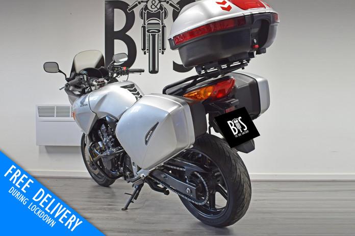 Used Honda CBF600 Tourer for sale northampton bike sanctuary left rear.jpg
