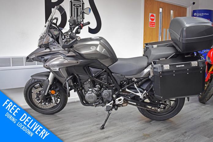 used benelli trk 502 adventure for sale northampton bike sanctuary left side.jpg