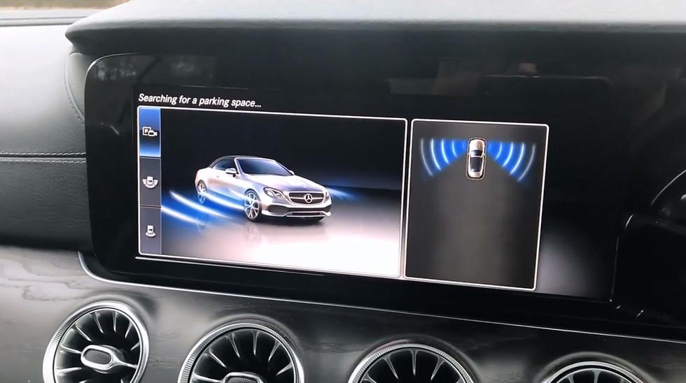 How to use Mercedes-Benz Parktronic Active Parking Assist Parking Pilot