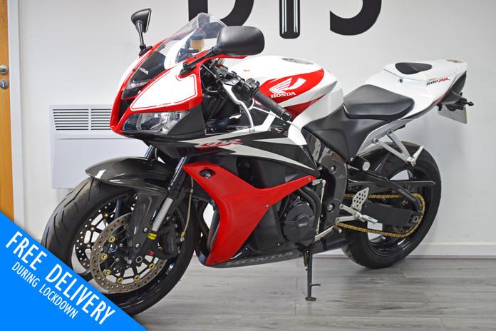 Used Honda CBR600RR for sale red white northampton bike sanctuary front left.jpg