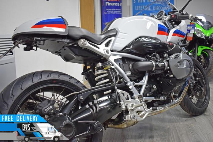 Used BMW R9T Racer for sale Northampton Bike Sanctuary right rear close.jpg