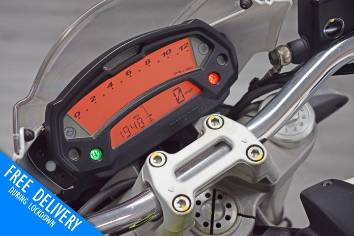 Used Ducati Monster 696 Plus White For S