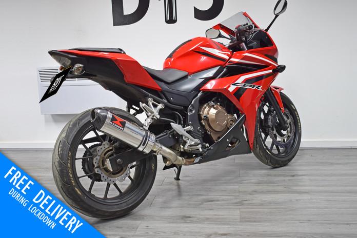 Used Honda CBR500R for sale northampton