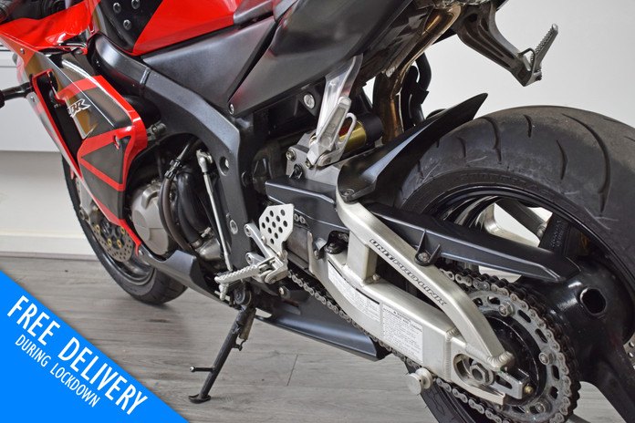 Used Honda CBR600RR Red For Sale Northampton Bike Sanctuary left rear close.jpg