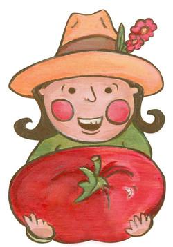 Tomato Tam - copyright L.Shulba