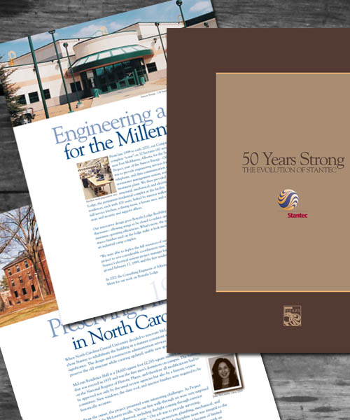 Stantec 50th anniversary Book
