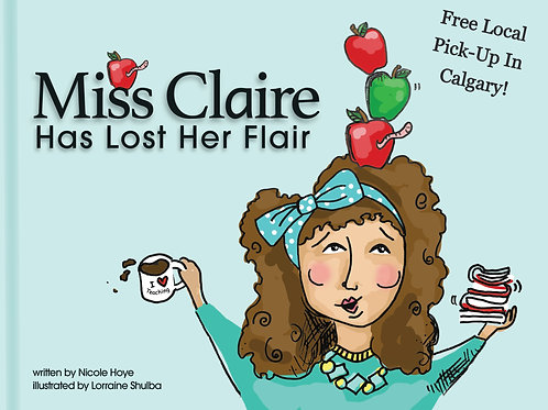 Hardcover book Has Lost Her Flair  Only $19.95 + $5 shipping Free Local Pick-Up