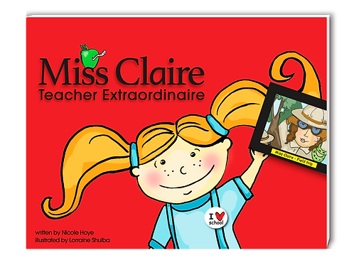 AVAILABLE NOW! Hardcover book Teacher Extraordinaire Only $19.95 + $5 shipping