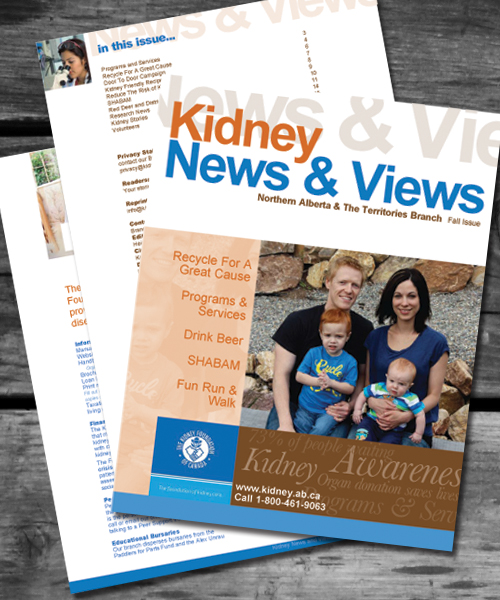 Kidney Foundation Magazine