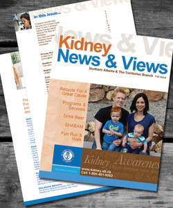 Kidney Foundation Magazine