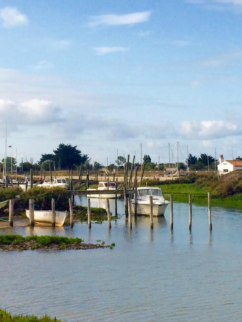 Le petit port du Goisil à La Couarde