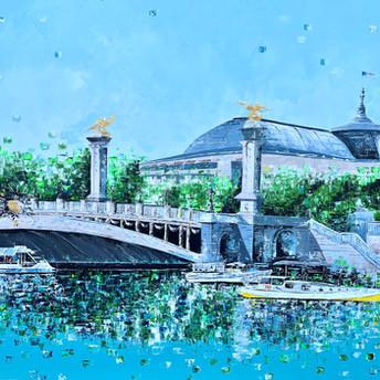 Le pont d'Alexandre (commande spéciale)