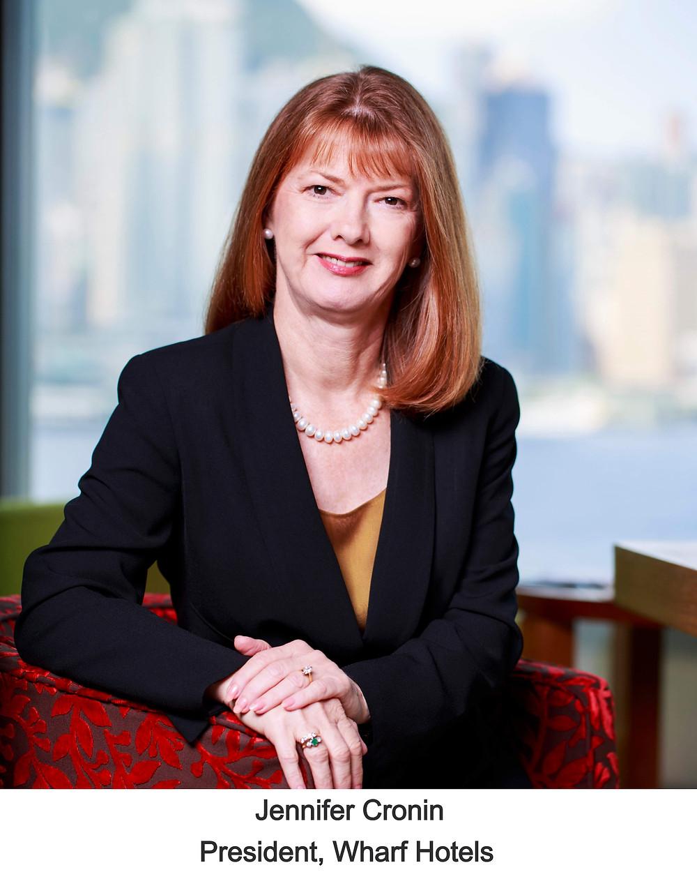 Jennifer Cronin, President Wharf Hotels