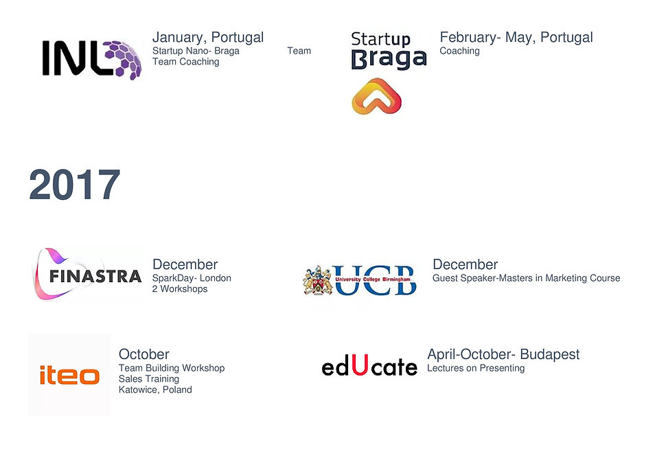 Projects and Activities 2017 to 2019-pag