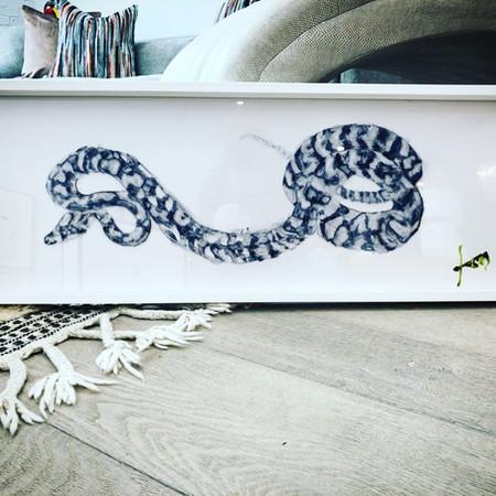 snake, by snake