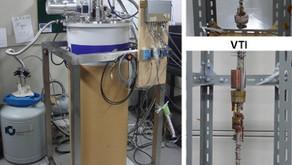 温度可変インサート付き統合型無冷媒マグネットシステム:TeslatronPT (Oxford Instruments)