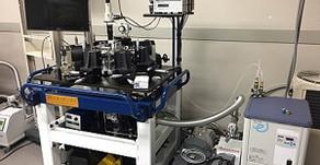 高周波測定真空低温プローバー GRAIL10-305-3-2RF-LV-MG-R (Nagase Techno.)