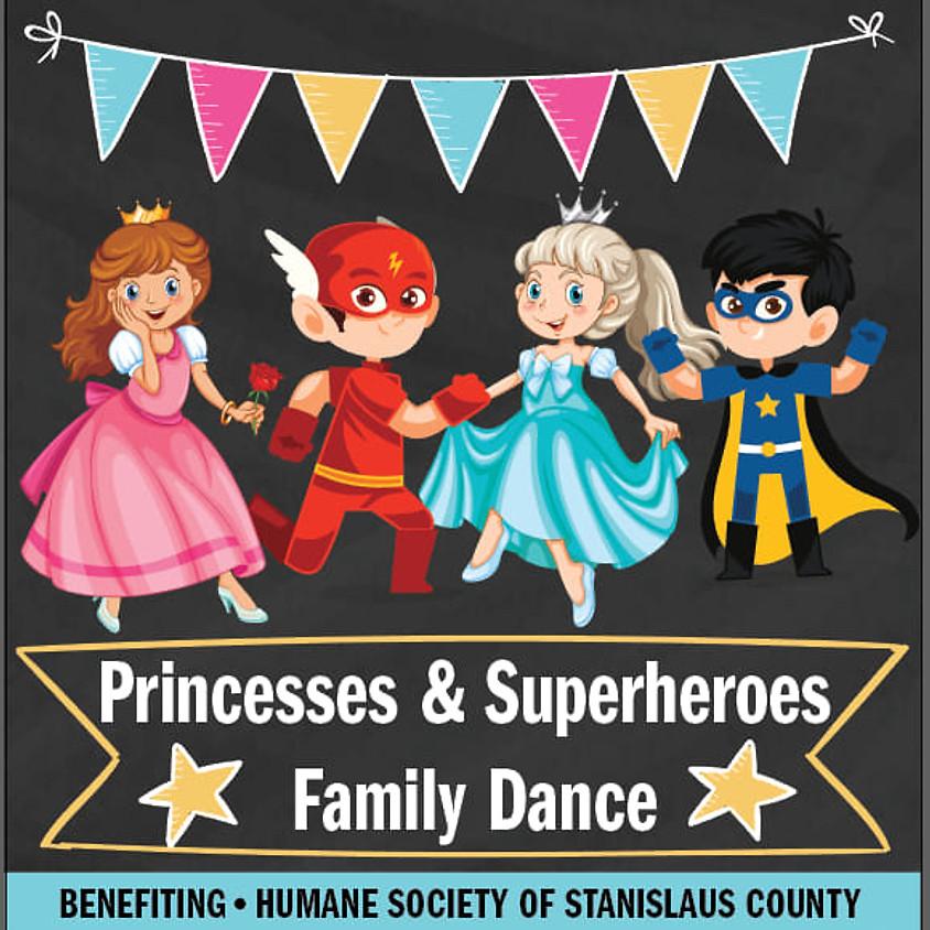 Princesses & Superheroes Family Dance