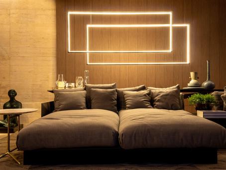 Aqueça os ambientes com móveis e cores fortes