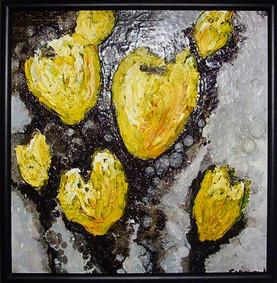 Pictura ulei flori 6