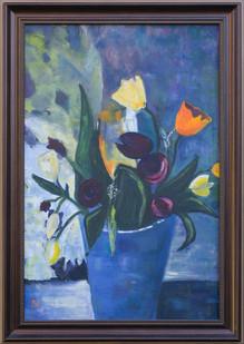 Pictura ulei flori 10