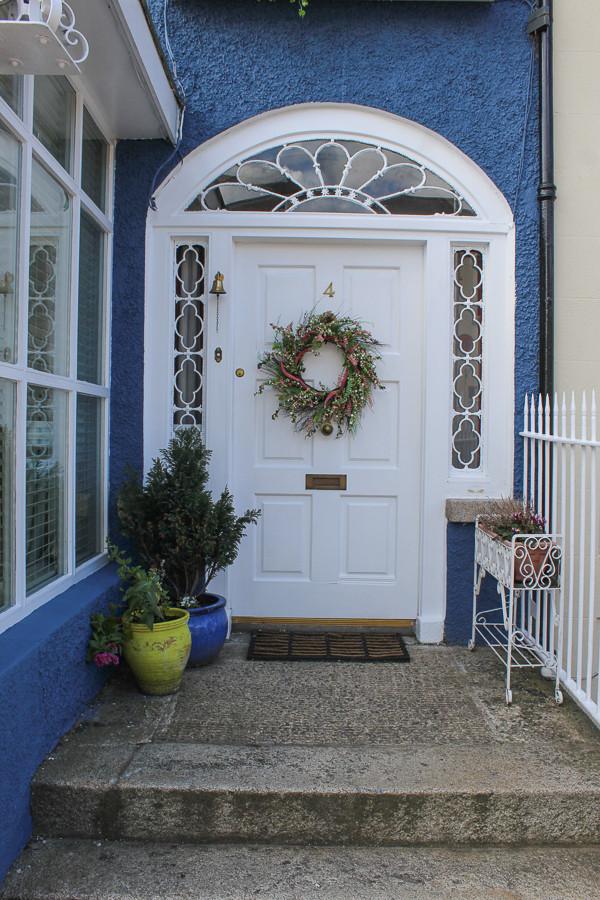 Hillside Holiday Home front door