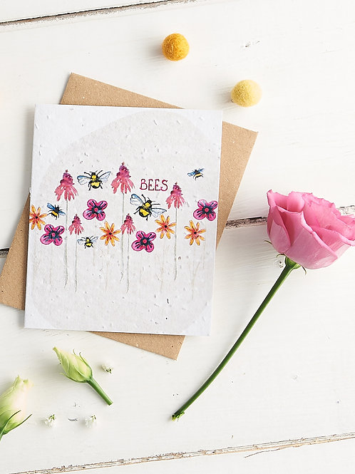 Seed Greetings Cards to Plant and Grow