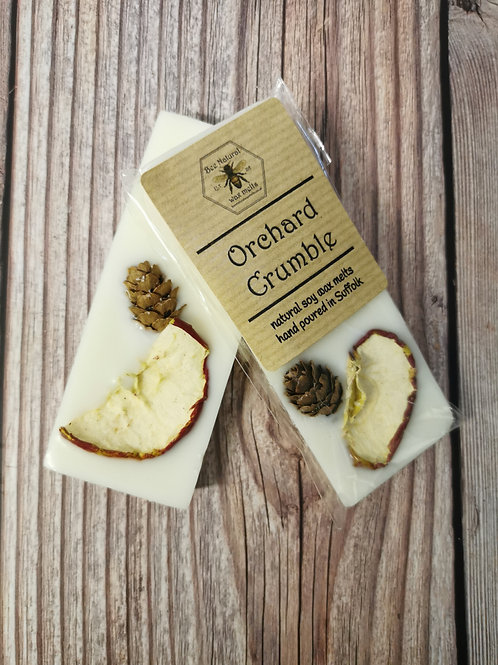 Orchard Crumble soy wax snap bar