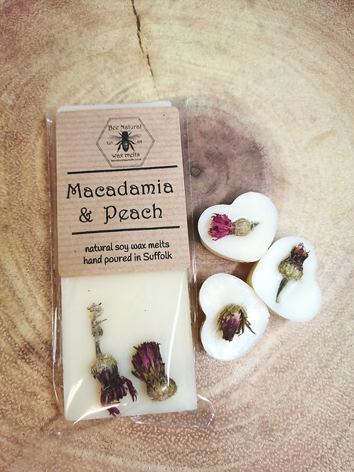 Macadamia & Peach from £2.50
