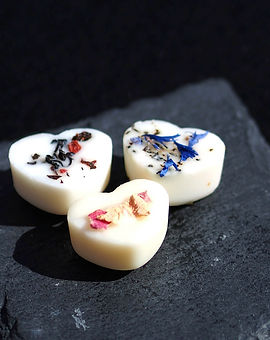 Individual Soy Wax Melts with Botanical Decoration