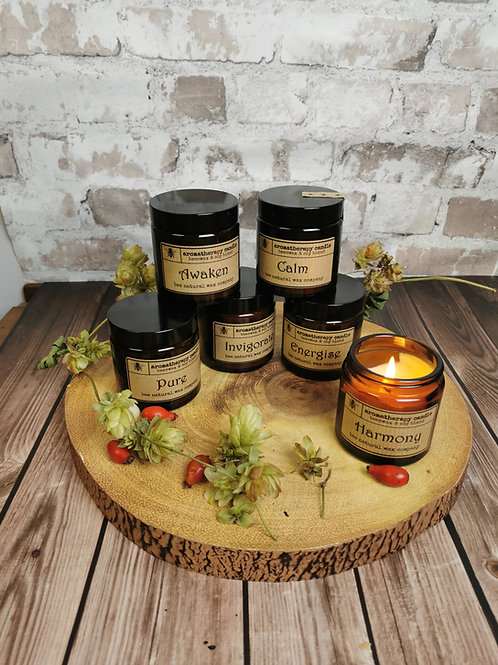Aromatherapy Candles (Beeswax & Soy blend)