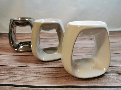 Sweetheart Design White, Grey or Silver Tealight Burner