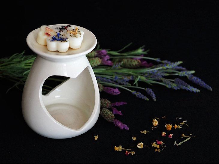 Soy Wax Melts | Bee Natura Wax Melts | Wax Melts in Ceramic Burner