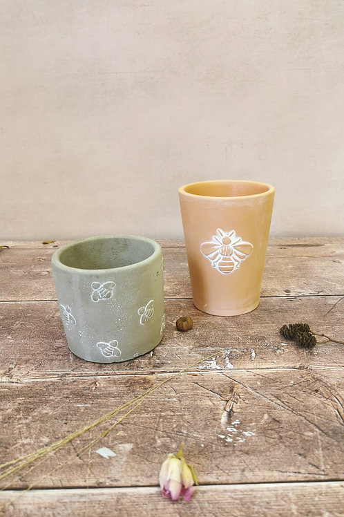 Bee Planters from £5.50
