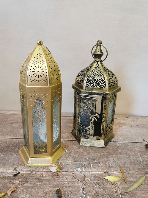 Moroccan style lanterns from £18