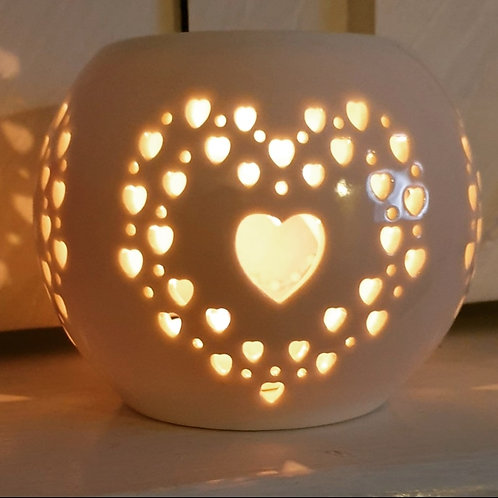 Heart Tealight Burner