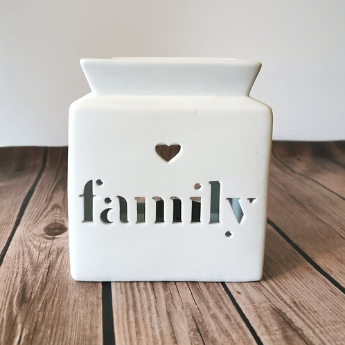 Family square cut out burner