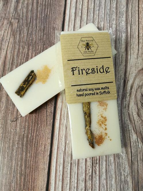 Fireside soy wax snap bar