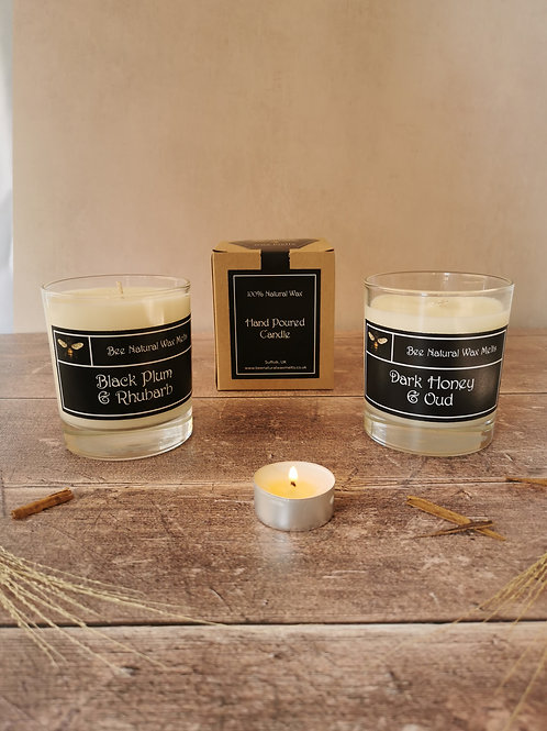 NEW handpoured luxury 30cl soy candle