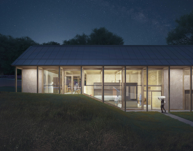 """""""Late Shift"""" - An Architectural Project Designed + Visualised by Adam Mozes"""