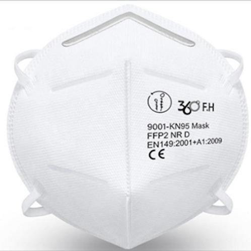 N95 / FFP2 Respirator (360º F.H) - Box of 5
