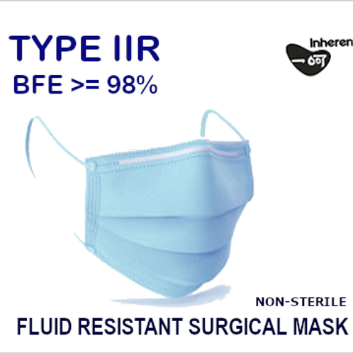 Fluid Resistant Surgical - Type IIR (Box of 50)
