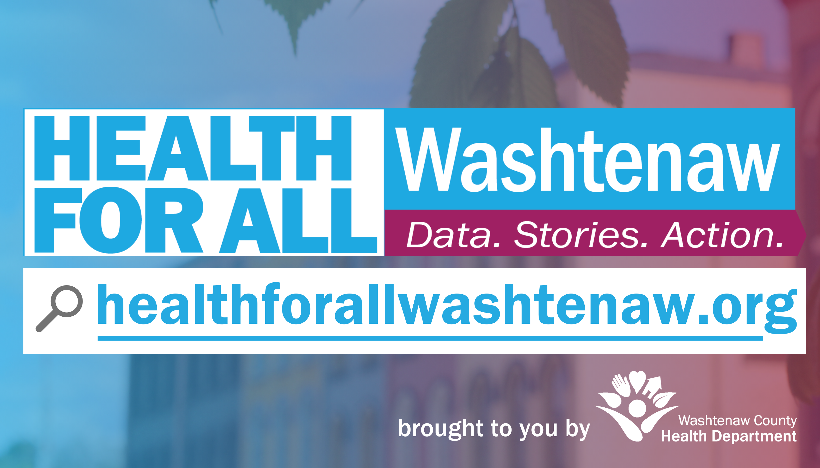 Health for All Washtenaw card, front