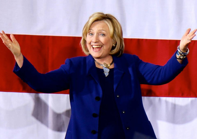 Hillary Clinton, Macalester College, 2014