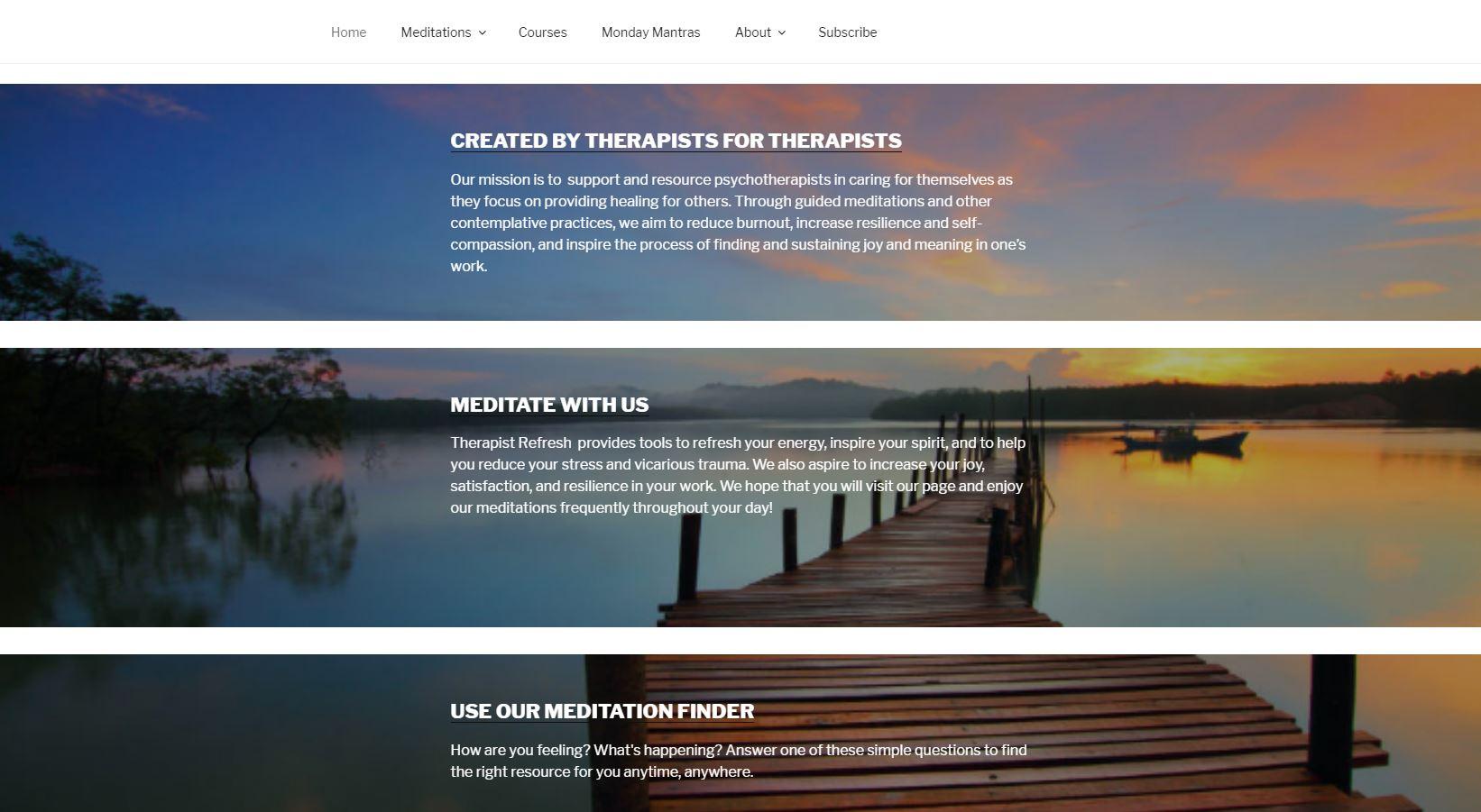 Therapist Refresh Homepage Bottom