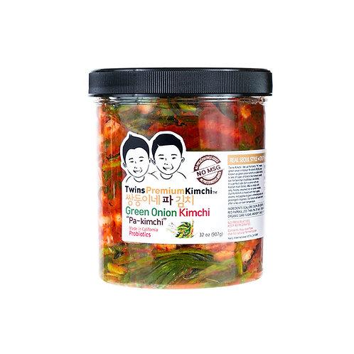 Twins Premium Sliced Pa-Kimchi (Green Onion) 32oz