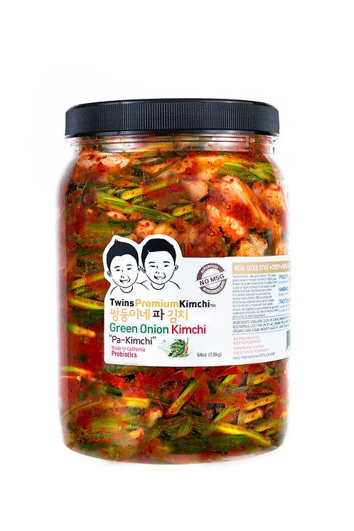 Twins Premium Sliced Pa-Kimchi (Green Onion) 64oz