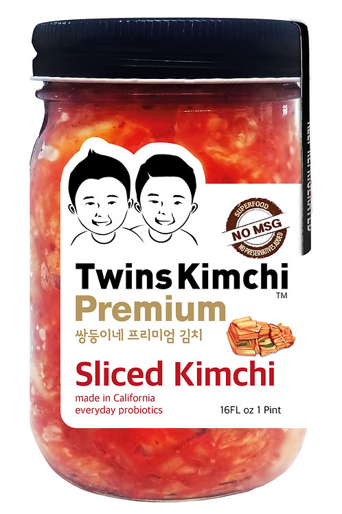 [Coming] Twins Premium Kimchi Stand-up Pouch Pakage 16oz