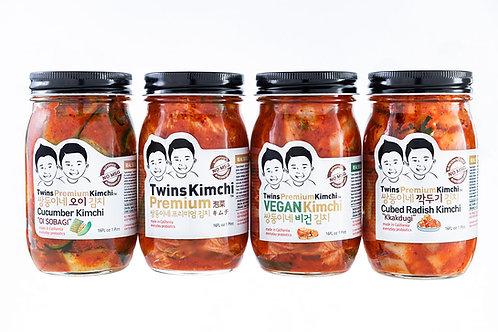 Twins Premium Kimchi assortment pack 4type
